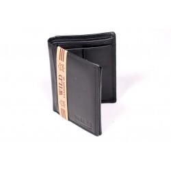 Pánská kožená peněženka Wild Himanshu PKP024 černá